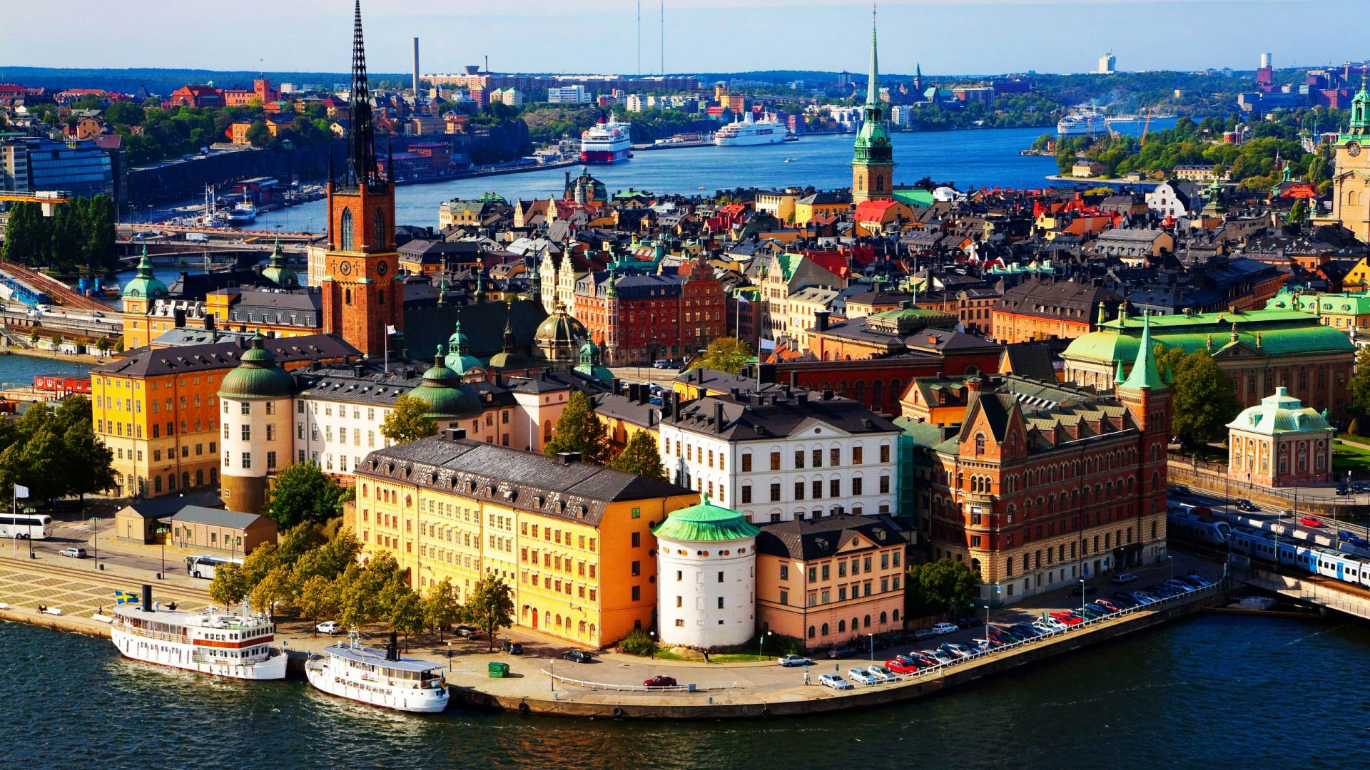 The main city in Sweden Stockholm