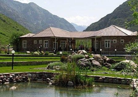 In the area you will find Chatkalsky reserve resort located on the banks of the River Chatkal